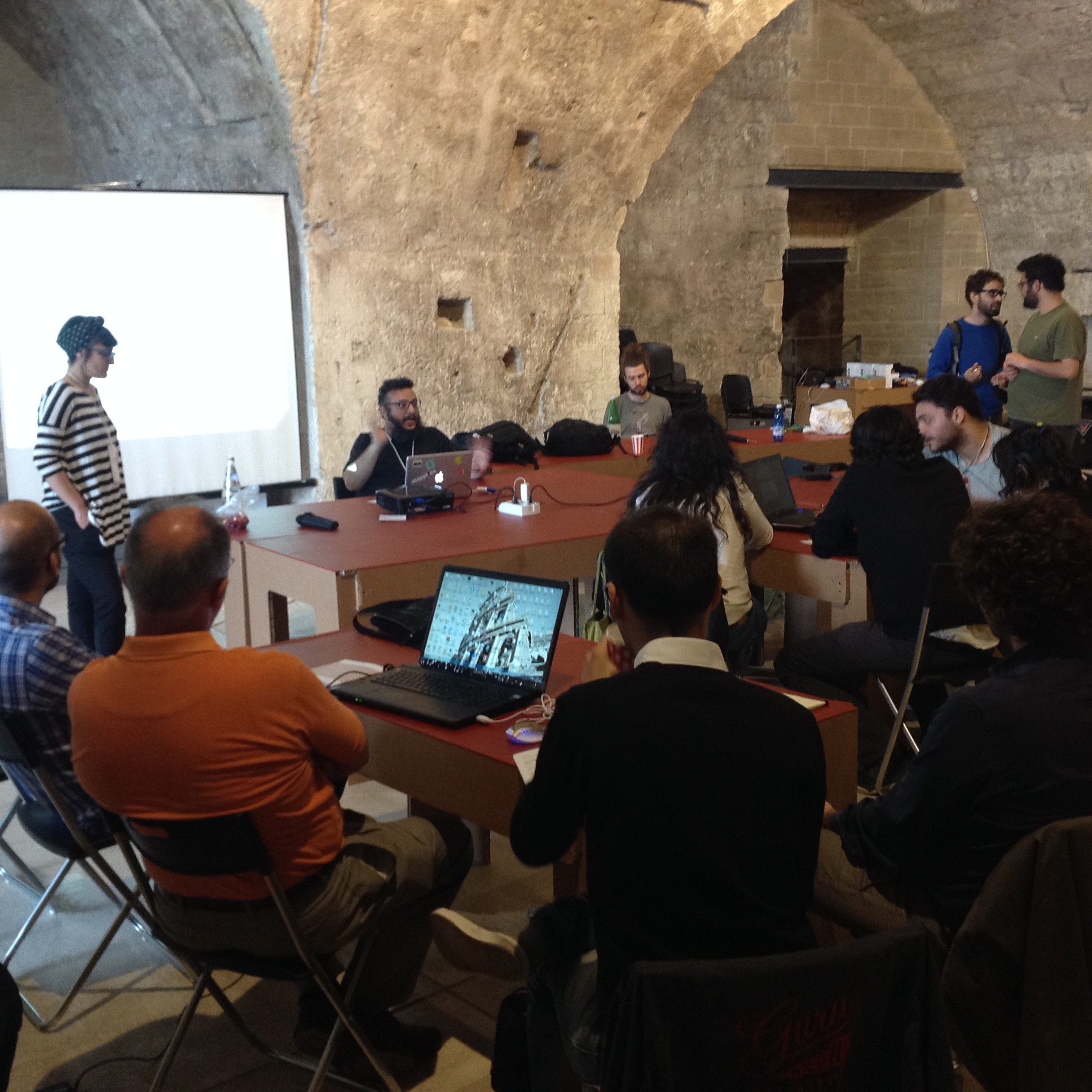 il workshop a Bari