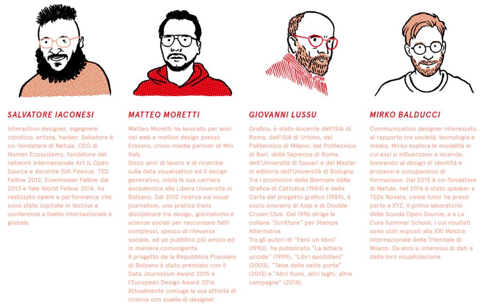 Infografica e Infoestetica a ISIA Firenze
