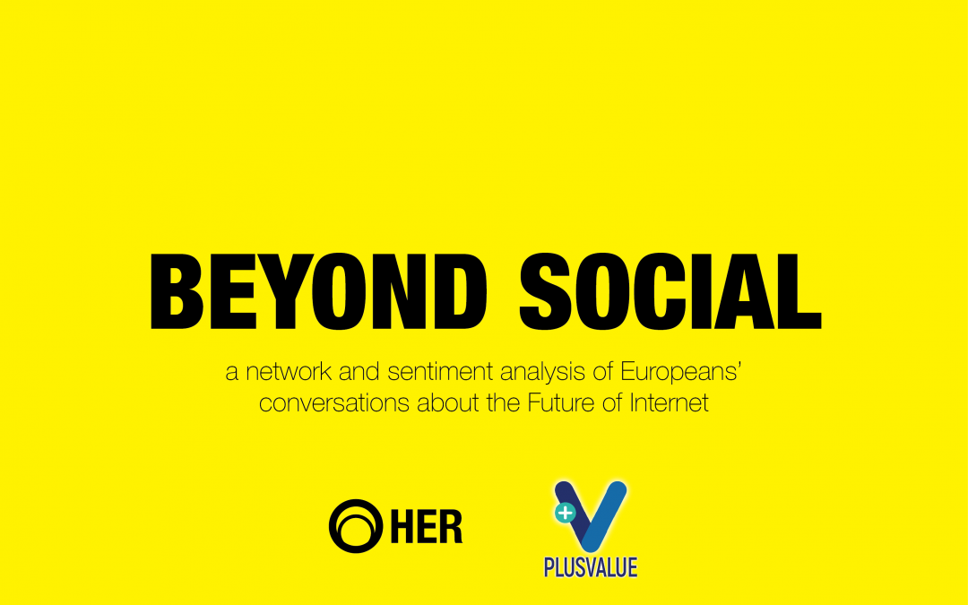 """Future of Internet: the """"Beyond Social"""" report"""