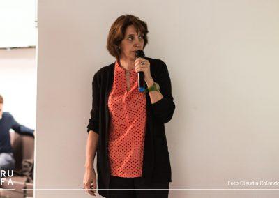 Elena Giulia Rossi at RUFA for the roundtable