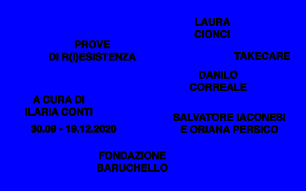Data Meditations in Rome at Fondazione Baruchello