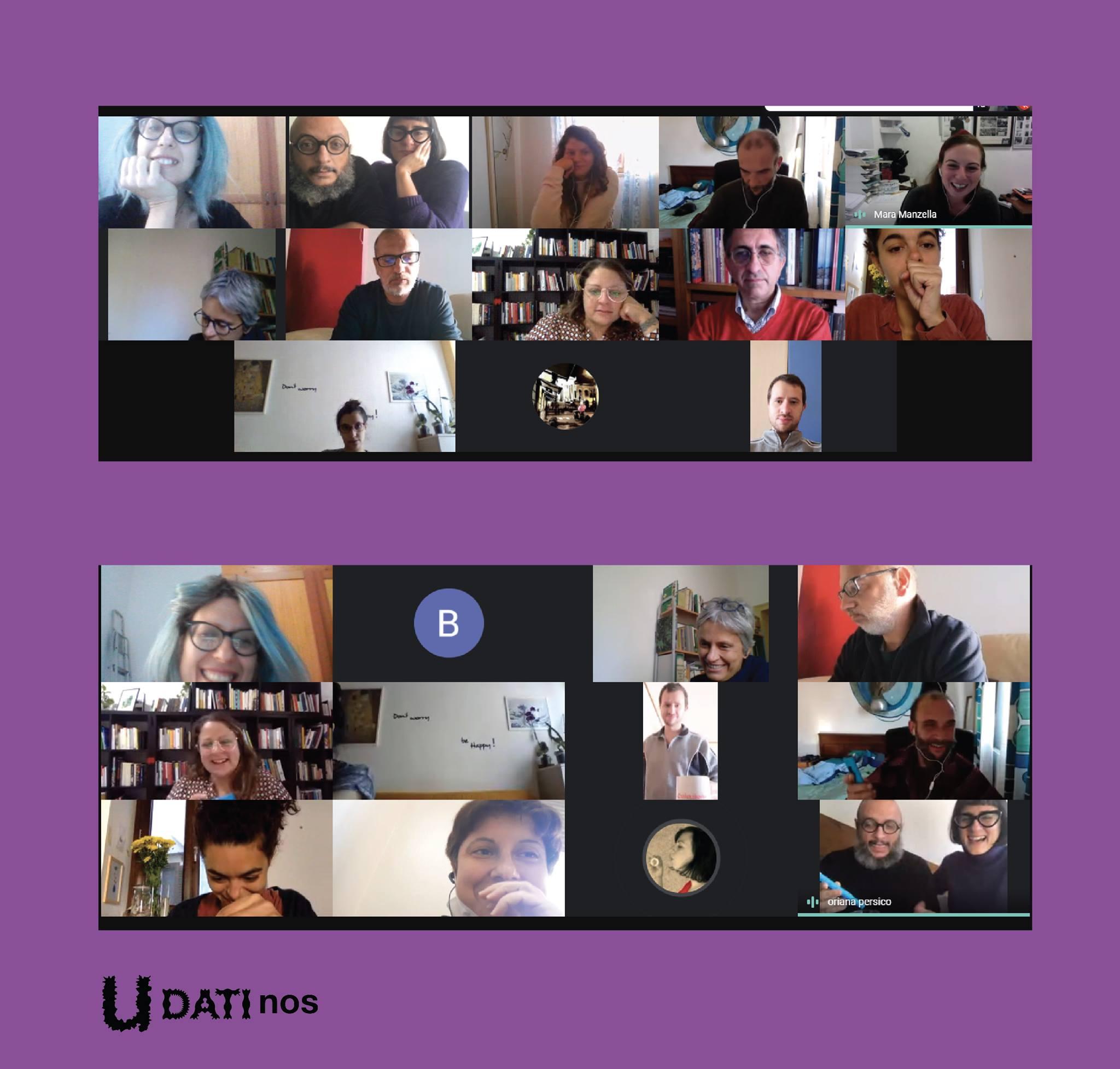 U-DATInos: online workshops
